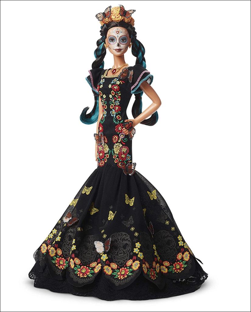 Производитель Барби выпустил куклу ко дню мертвых
