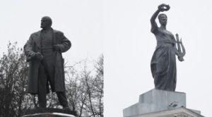 Городские легенды: памятник Ленину и Гомельский драматический театр