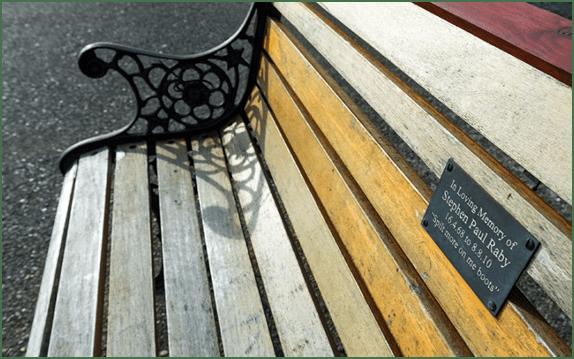 Мемориальная скамья – особый вид памятника