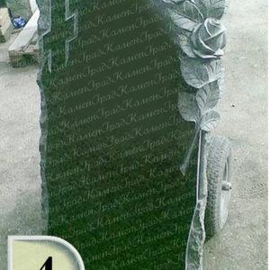 Памятник крест в розах №4