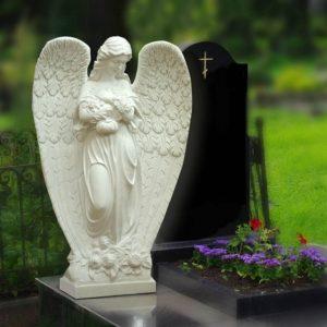 Памятники с ангелом