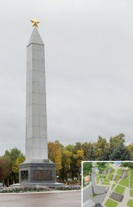 Памятники Лоева: мемориальный комплекс героям битвы за Днепр