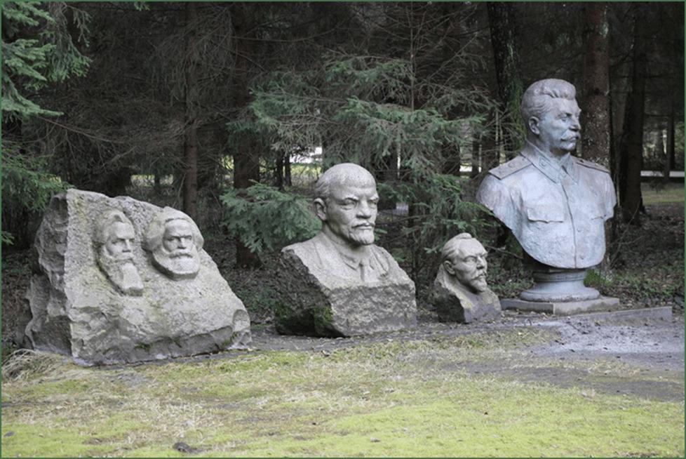 Парк Грутас: место, где собраны старые памятники