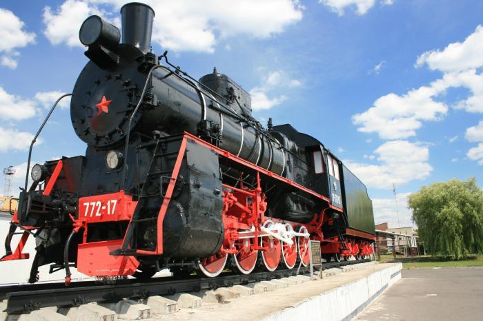 Памятники в Калинковичах: паровоз, определивший судьбу города