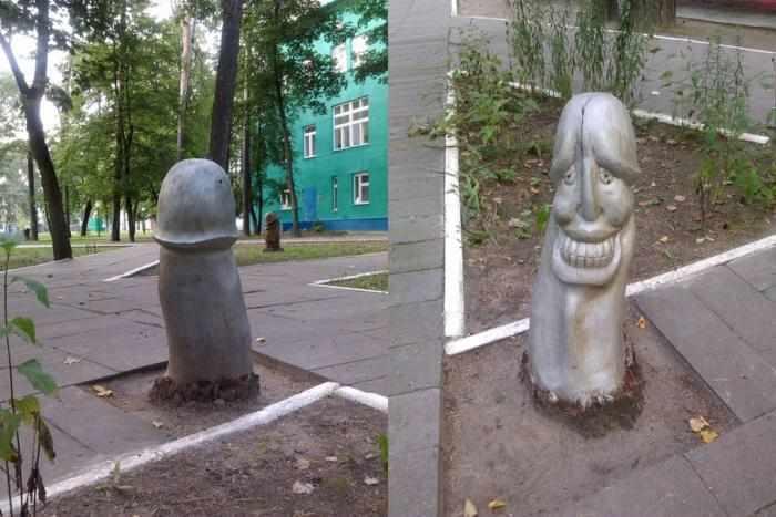 Эти памятники вызывают у людей недоумение